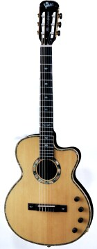 VSP-Gerry Electric Nylon Strings Guitar